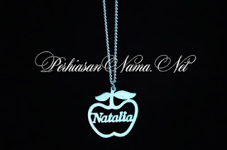 kalung nama apple
