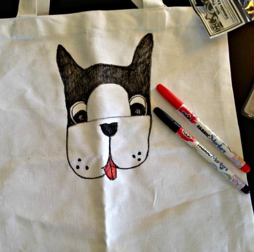 DIY Doggie Tote