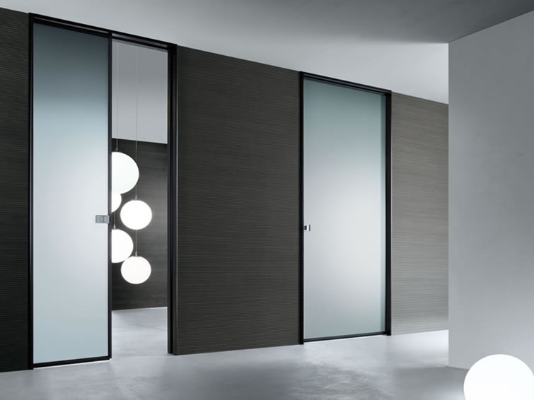 New home designs latest glass interior door designs for Contemporary house door designs