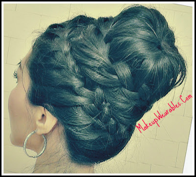 Image11+photo+tt2 Never Ending, French Braid Sock Bun Hairstyles | Hair Tutorial Video