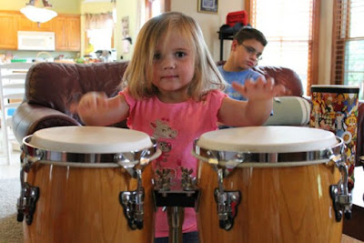 Activity Idea for DRUM DREAM GIRL by Engle and López via www.happybirthdayauthor.com