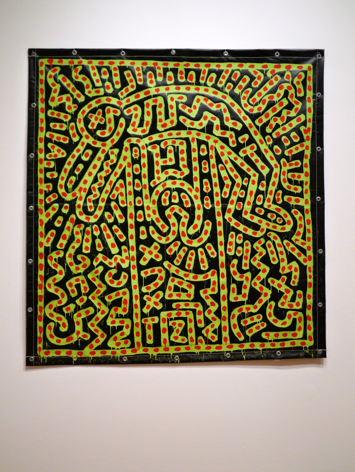 Little Hiccups: Keith Haring: The Political Line