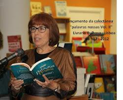 """Lançamento da colectânea """"palavras nossas Vol. II"""" Livraria Bulhosa - Lisboa  - 08 -12 - 2012"""