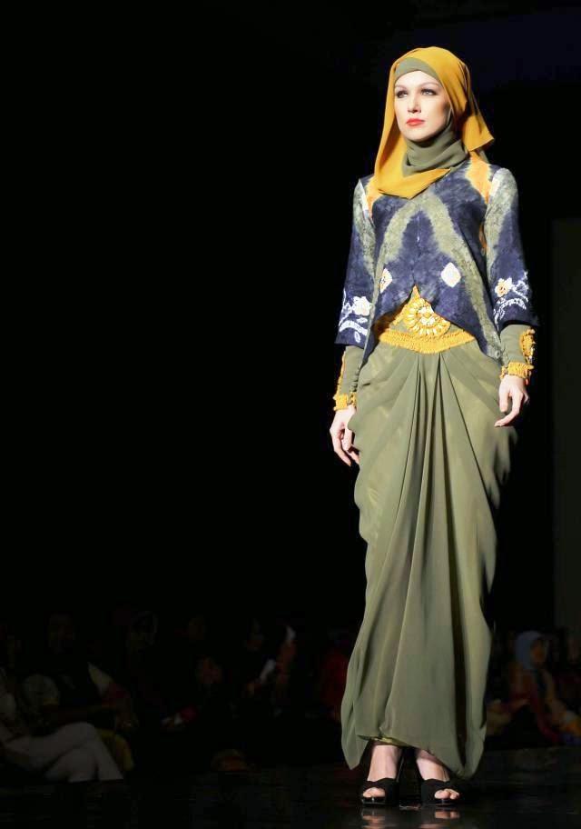 Gambar Model Baju Muslim Terbaru 2015