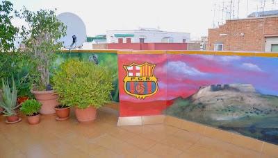 Berok graffiti mural profesional en barcelona murales fc for Club de suscriptores mural