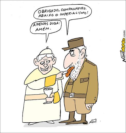 Papa visita Cuba