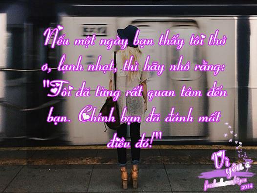 những câu nói ý nghĩa trong tình yêu