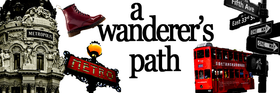 a wanderer&#39;s path