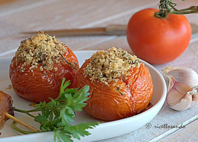 Pomodori ripieni ricetta siciliana