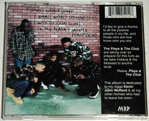 """Playa """"B"""" & The Midwest Click – Small World (EP) (1996) (320 kbps)"""