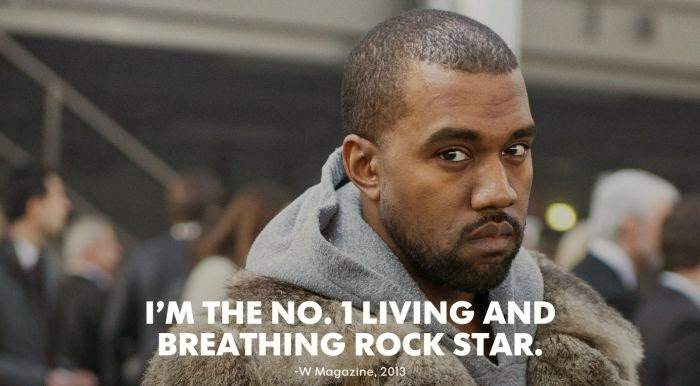 23 Pictures of Kanye West Proves that He is a biggest Fan of Himself
