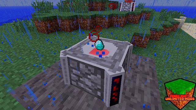 Blood Magic Mod altar