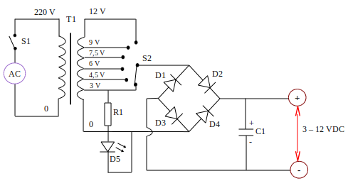 Power Supply Animation as well Showthread in addition Schematic Diagram Of Power Supply Full Wave further Ac To Dc Converter Wiring Diagram likewise Static Phase Converter Schematic. on wiring diagram of bridge rectifier