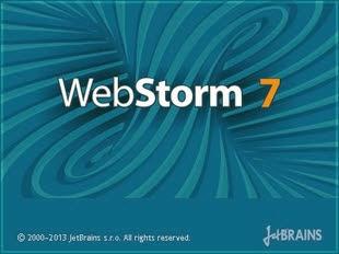 JetBrains WebStorm 7