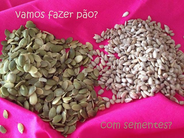 prazer a cozinhar - pão integral com sementes de abóbora e girassol