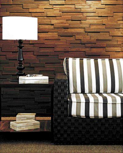Parede de madeira - Muro de madera ...