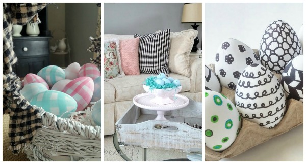 Easter projects and decor DIY beautify