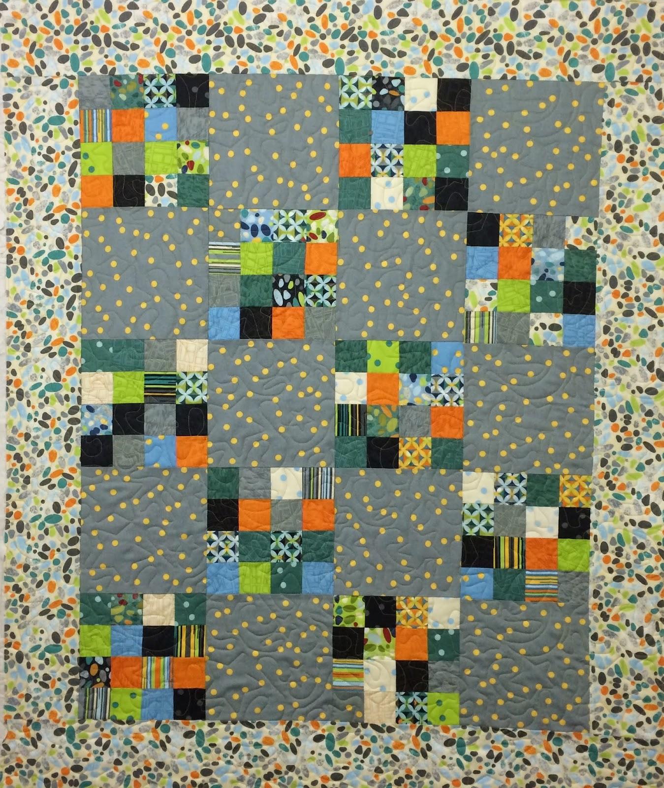 Jill Seward 9-Patch Baby Quilt
