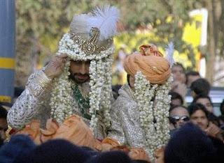 Aishwarya Abhishek wedding snaps