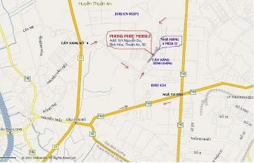 Bản đồ đường đi: