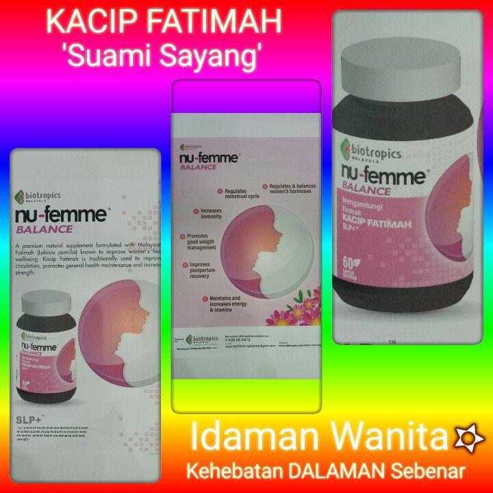 Women Health. Kacip Fatimah 'labisia pumila' And Nu-Prep Wanita.