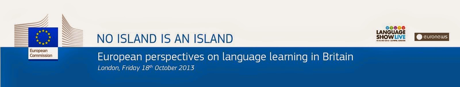 European perspectives on language learning in Britain.