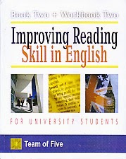 toko buku rahma: buku BOOK TWO + WORKBOOK TWO IMPROVING READING SKILL IN ENGLISH FOR UNIVERSITY STUDENTS, pengarang team of five, penerbit kencana