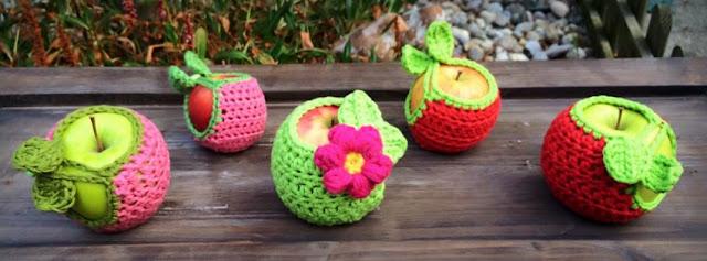 Apfelhüllen apple cozy - Ideenpiratin