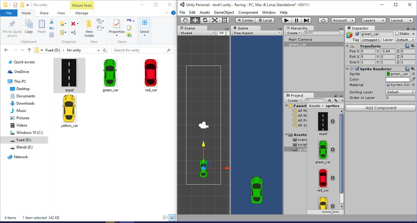 Membuat Game racing 2D dengan Unity part 1 (Jalan dan ...