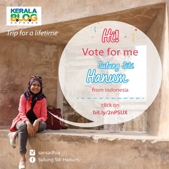 Vote me at Kerala Blog Express