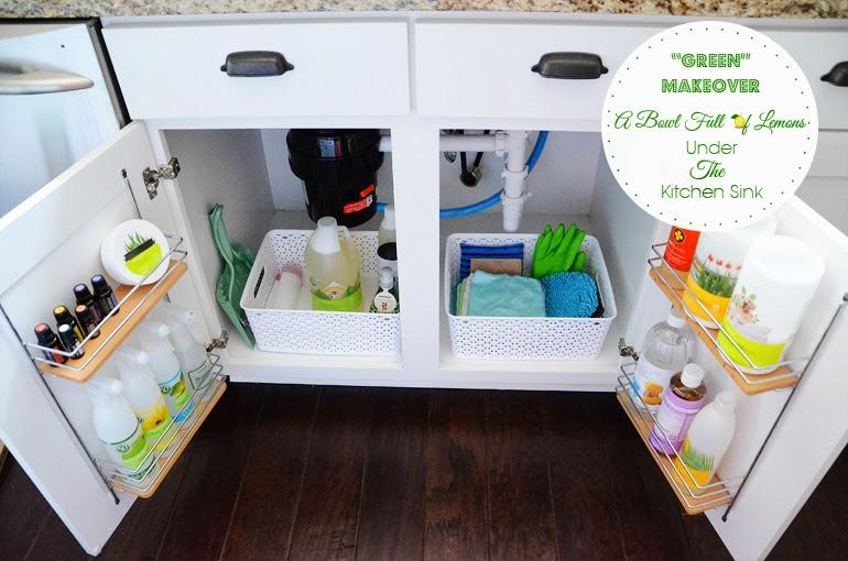 Simply in Control: Undersink Kitchen Cabinet Organization