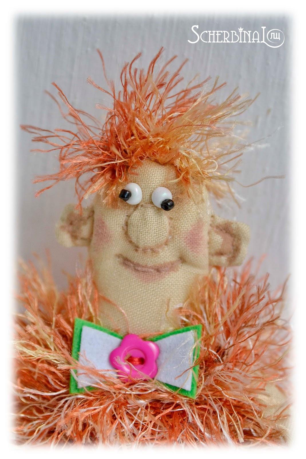 текстильная кукла-оберег Бабайка, ручная работа