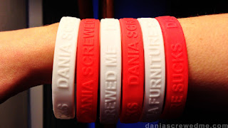 dania screwedme wristbands for page 1 part, 2012