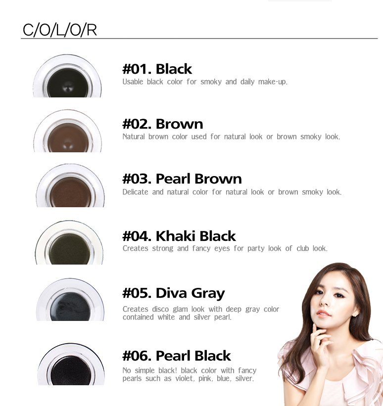 ♥ Beautifying Life ♥: Review   Tony Moly Backstage Gel Liner ♥