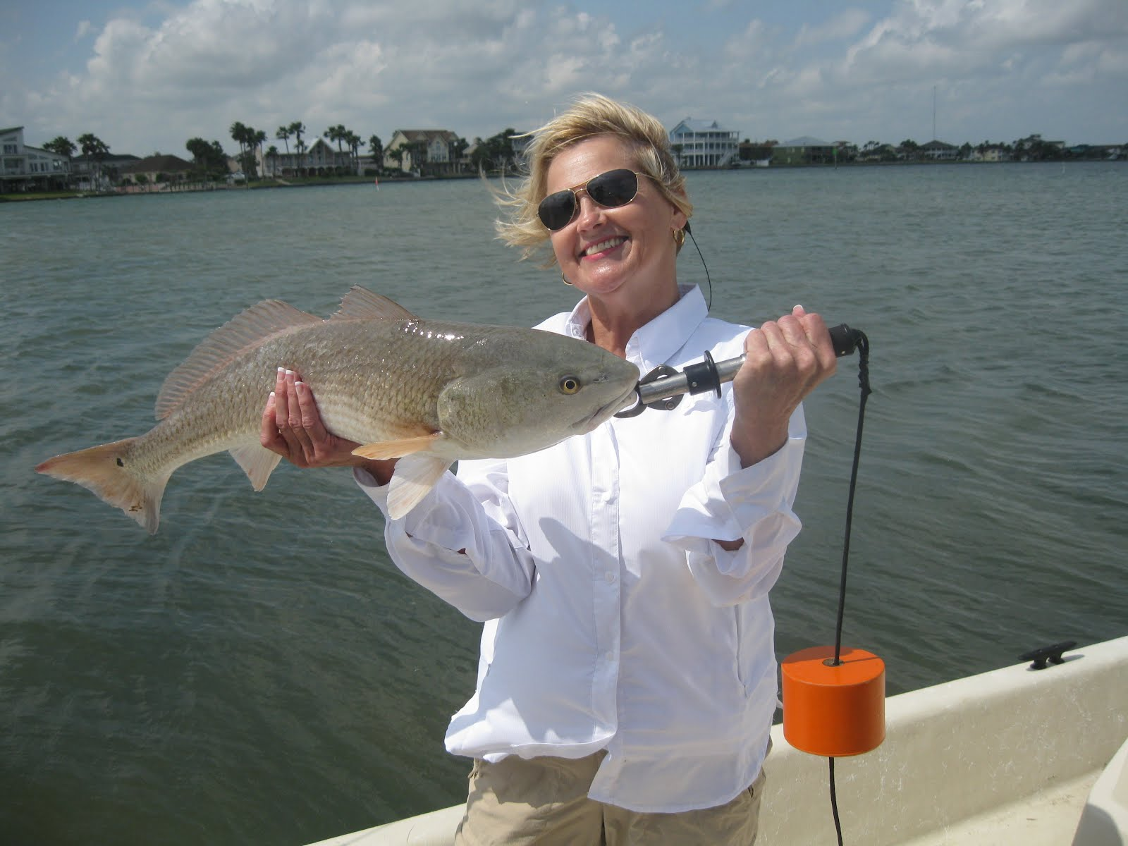 Ron 39 s rockport fishing reports high winds make trout for Rockport texas fishing report