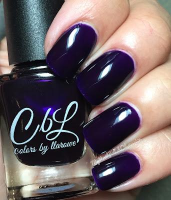Colors by Llarowe Winter Crellies/Jellies: Violet Haze