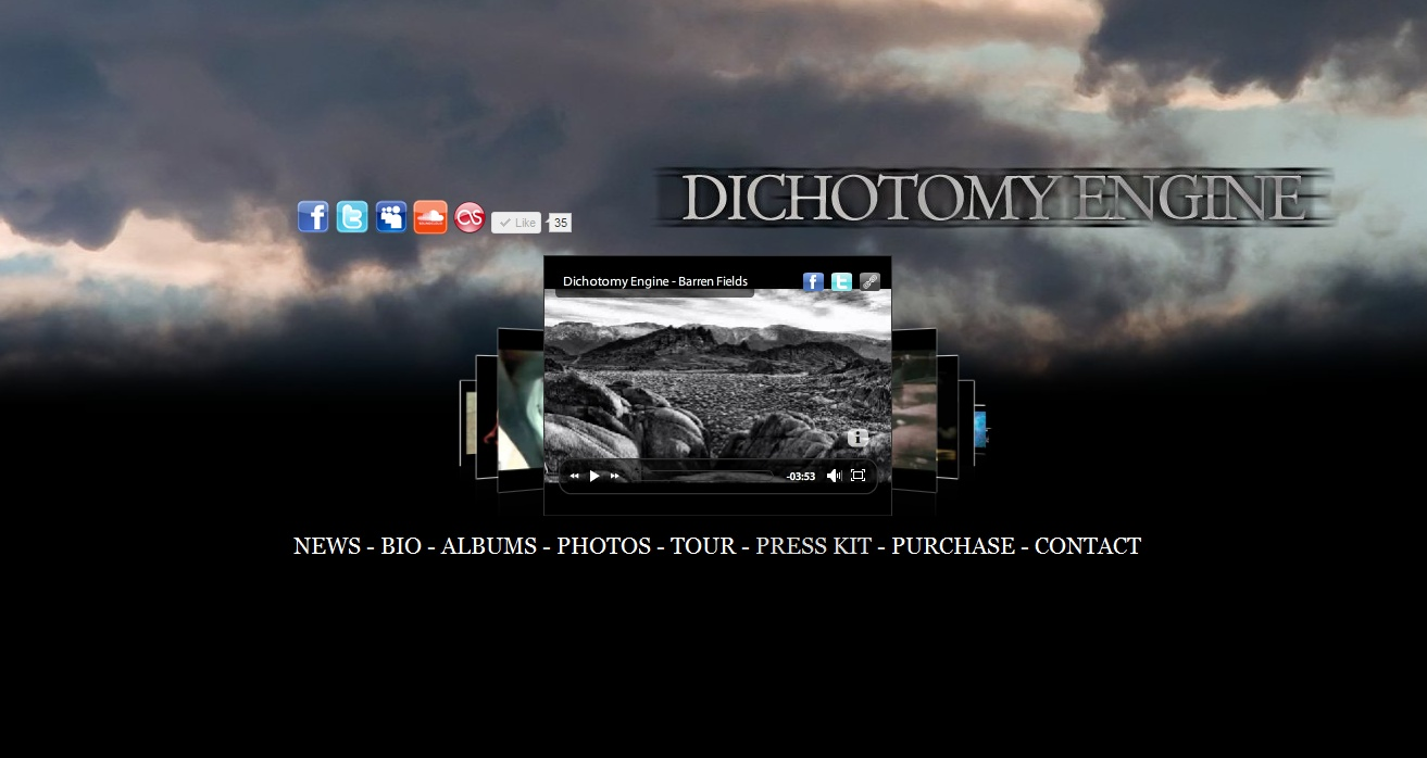 dichotomy Dichotomy by polaris, released 29 november 2013 1 in memoria di 2 aspirations 3 deliverance 4 the undertow 5 in parallel 6 wherever i may walk.