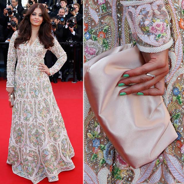 Aishwarya Cannes 2013 in Abu Jani Sandeep Khosla