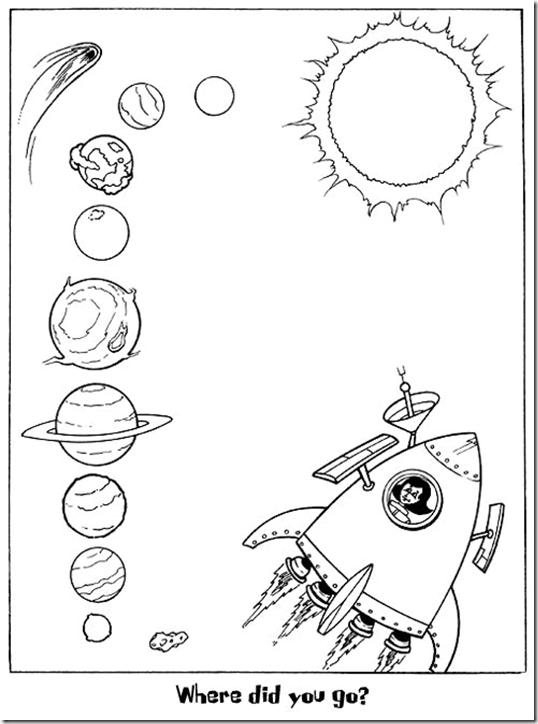 Sistema solar para niños de preescolar - Imagui