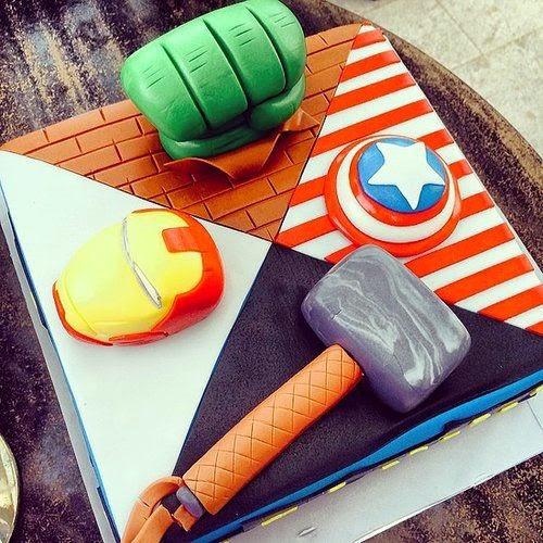 {dia de festa} festa vingadores - dicas de bolo / reprodução internet