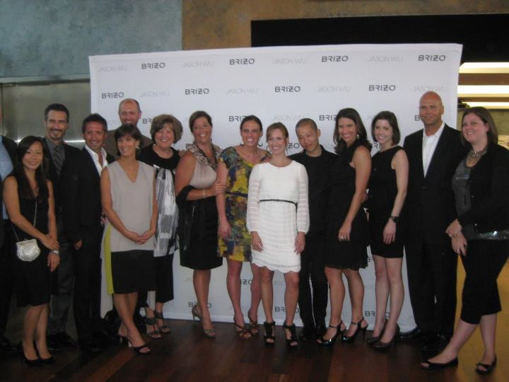 Brizo employees at Jason Wu S/S Fashion Show, New York Fashion Week