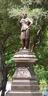 Olinda : statue de la Liberté