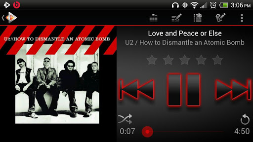 Rocket Music Player Premium for Android4