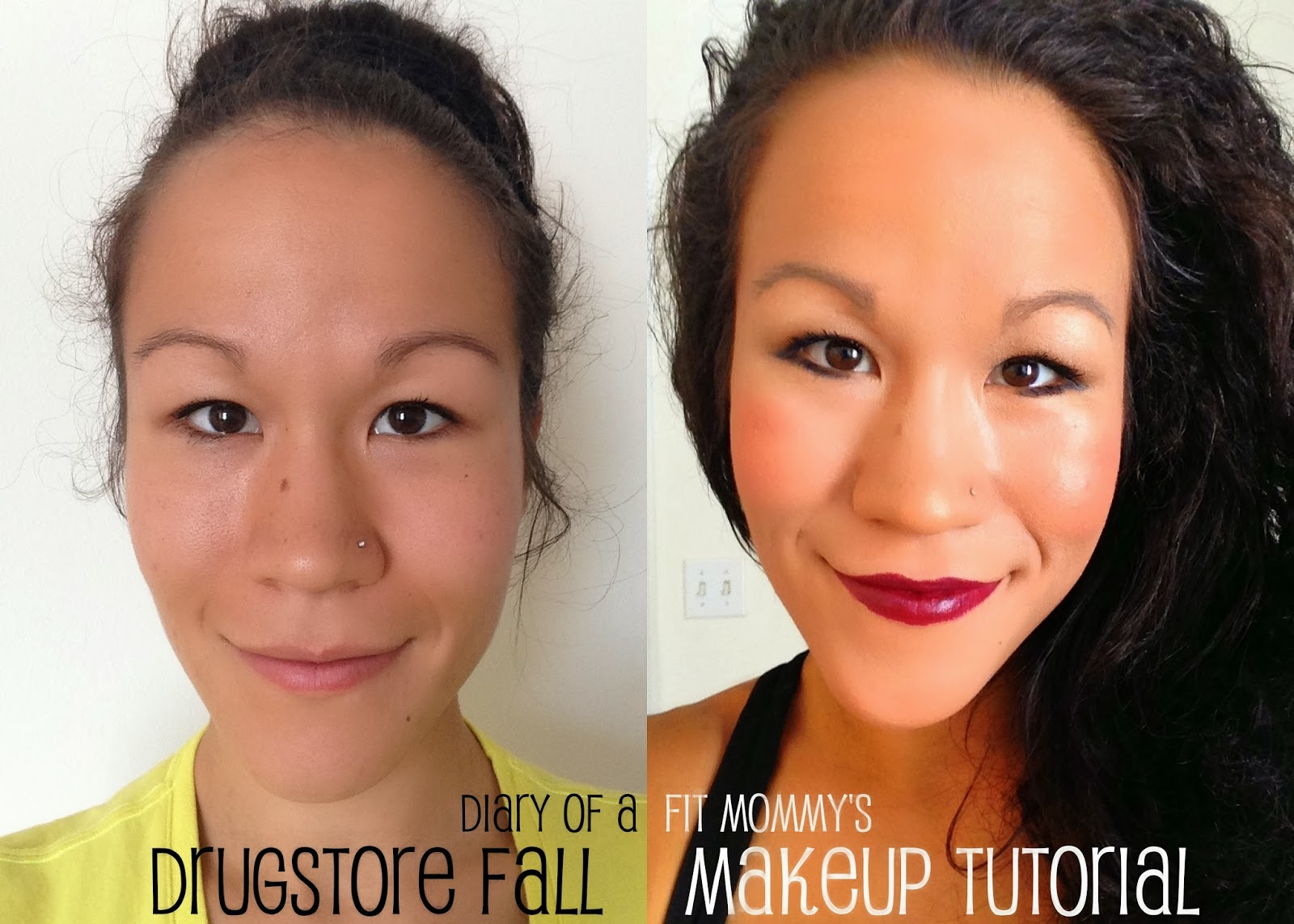 Diary of a fit mommy drugstore fall makeup tutorial drugstore fall makeup tutorial baditri Choice Image