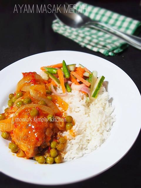 resep ayam masak merah