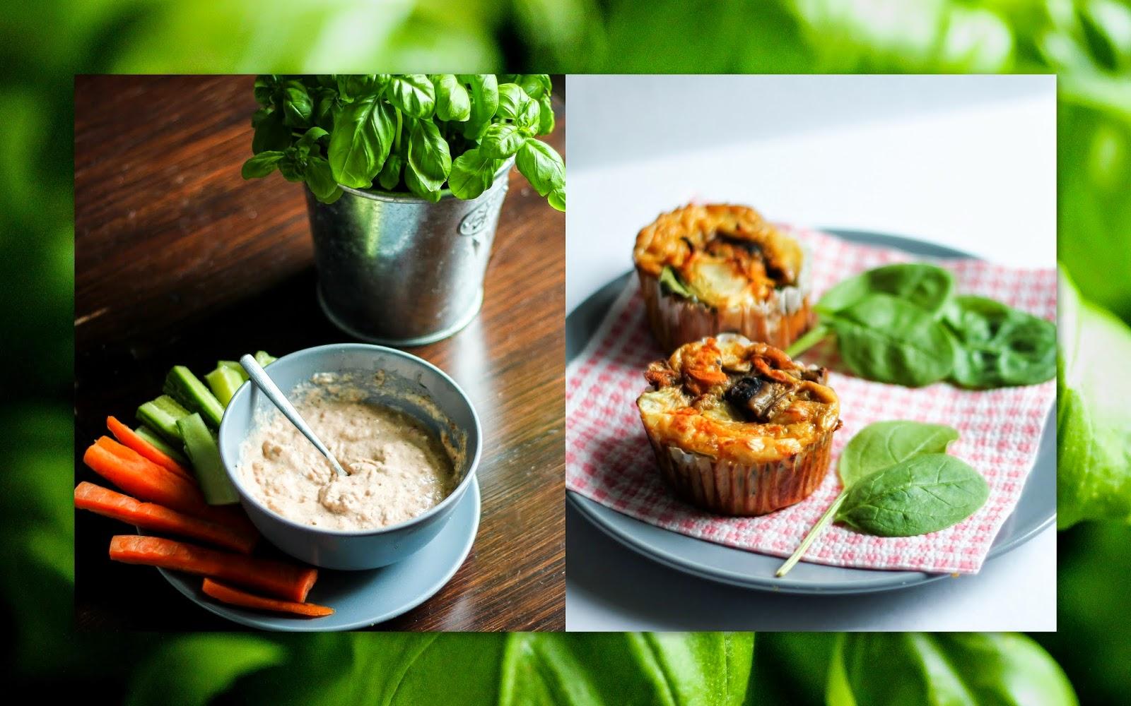 FOOD: TUNA DIP WITH EGG MUFFINS PRIZMAHFASHION