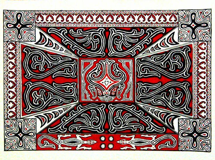 alfania p m nazara kumpulan gambar ornamen batak