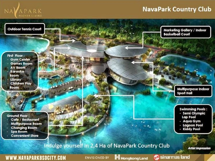 NavaPark Country Club BSD City