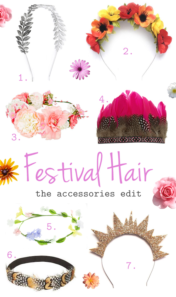 Festival Hair: The Accessories Edit