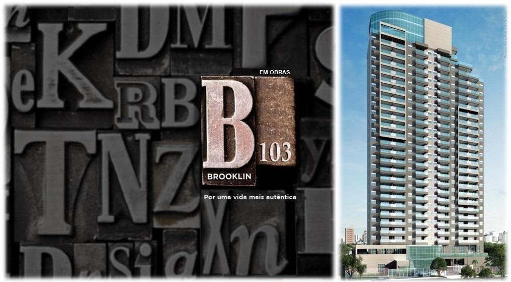 B103 Brooklin Apartamentos de 37 e 41m² R Florida ao lado Metrô Lilas/Ouro-Brooklin-São Paulo